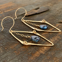 Florence Earrings / Blue
