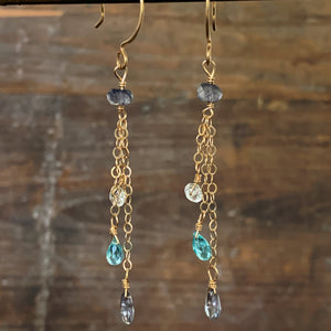 Falling Waters Earrings