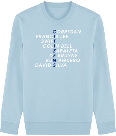 Sweat Manchester City Légendes