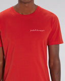 "Tee Shirt brodé ""Football Champagne"" - Foot Dimanche"