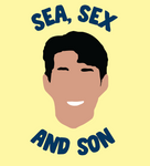 Tee Shirt Sea, Sex and Son - Foot Dimanche