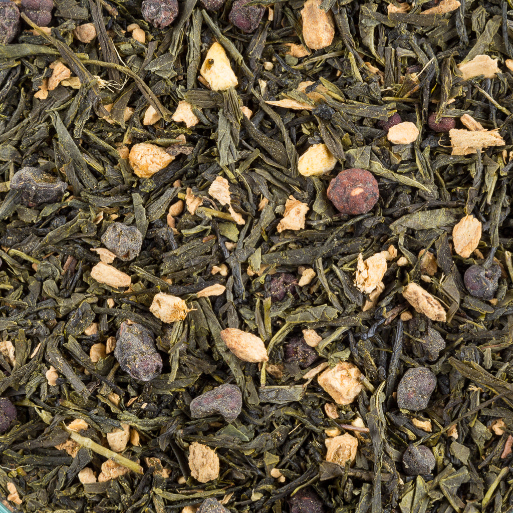 Ginger Sencha Green, Organic - Tea and Chi