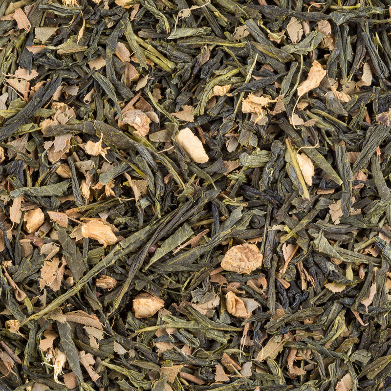 Lemon Ginger Sencha Green, Organic - Tea and Chi