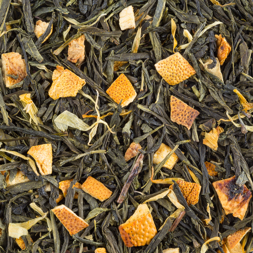 Lemon Sencha Green, Organic - Tea and Chi