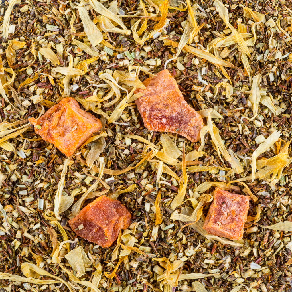 Peachy Green Rooibos, Organic - Tea and Chi