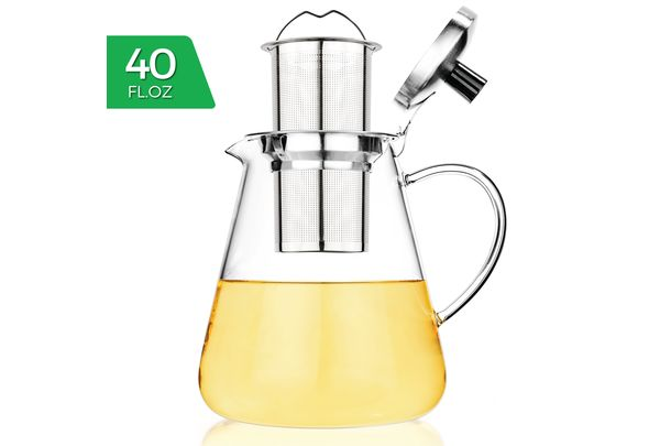 Mist Glass Iced Tea Brewer