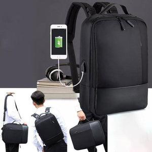 Evecer Anti-theft Laptop Backpack with USB Port