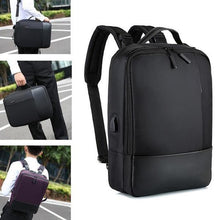 Load image into Gallery viewer, Evecer Anti-theft Laptop Backpack with USB Port