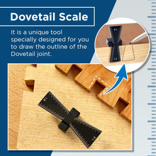 Load image into Gallery viewer, Woodworking Dovetail Scale