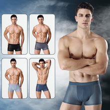 Load image into Gallery viewer, Summer Men's Fashion New Ice Silk Modal Underwear