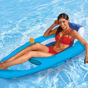 Float Recliner - Swim Lounger for Pool or Lake