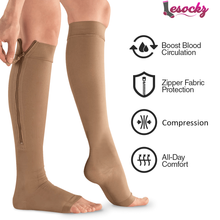 Load image into Gallery viewer, Bestoffdeal™Open Toe Compression Socks-Buy 3 get free shipping!