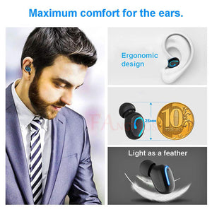 6D Noise Reducing-Sports Waterproof Earphone For iPhone&Android