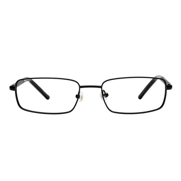 quality reading glasses metal frames black