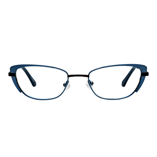 lightweight quality readers petite titanium blue