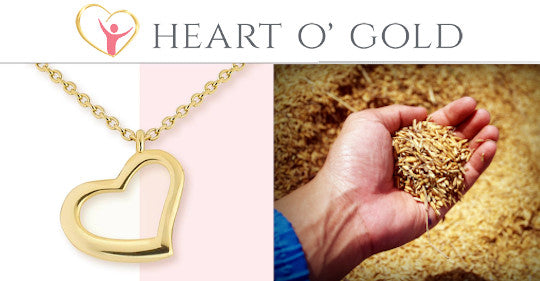 Heart O' Gold Jewelry Has A Mission To Stop World Hunger!