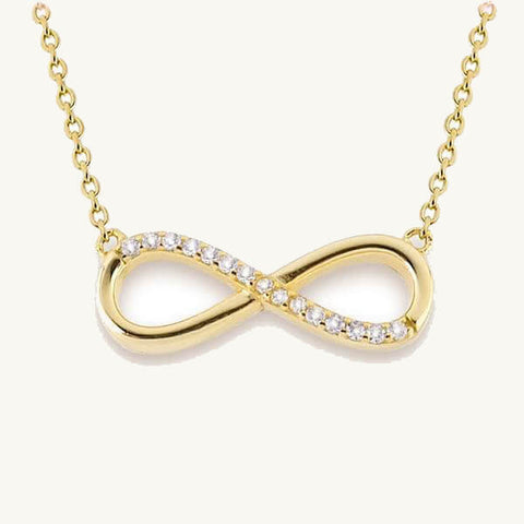 Image of Infinity Pendant Necklace