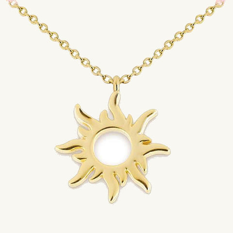 Image of Sun Pendant Necklace