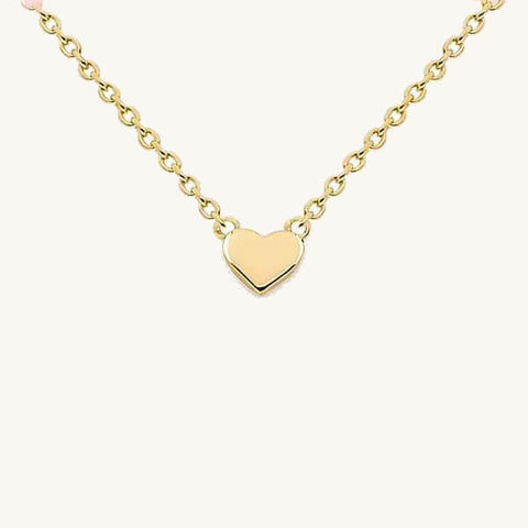 Image of Tiny Heart Pendant Necklace