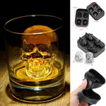 Chilling Skull Ice Cubes