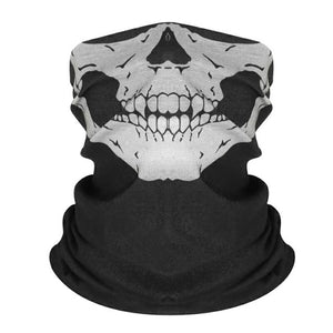 Scarf Mask Motorcycle Face Shield Skull Ghost Face