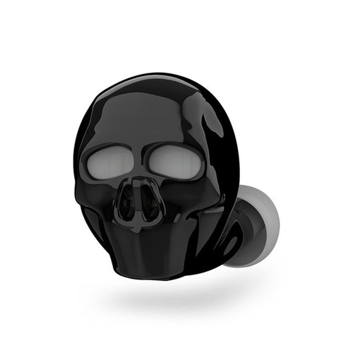 WATERPROOF SKULL BLUETOOTH EARBUD (ONE PIECE)