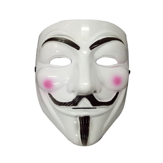 Neon Mask V for Vendetta Mascara Led Guy Fawkes