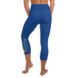 Push&Pray Yoga Capri Leggings