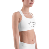 Faith Hope Love Sports bra