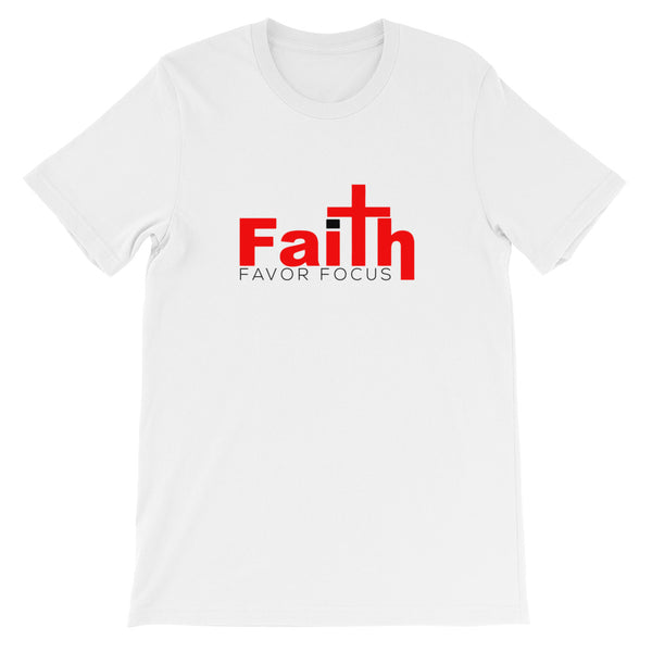 Faith Favor Focus Short-Sleeve Unisex T-Shirt