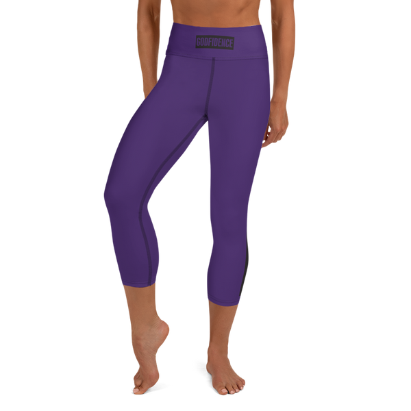 GODFIDENCE Yoga Capri Leggings