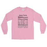 Jesus Facts Unisex Long Sleeve Shirt