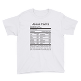 Jesus Facts Youth Short Sleeve T-Shirt