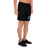 Faith Over Fear Men's Athletic Long Shorts