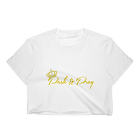 Push & Pray Women's Crop Top