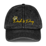 Push & Pray Vintage Cotton Twill Cap