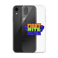 Fight with Faith iPhone Case