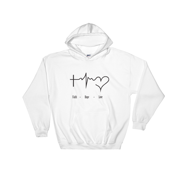 Faith Hope Love Hooded Sweatshirt