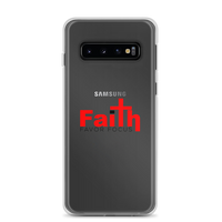 Faith Over Fear Samsung Case