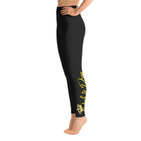 Push & Pray Yoga Leggings
