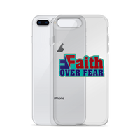 Faith over Fear iPhone Case