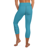 Faith Hope Love Yoga Capri Leggings