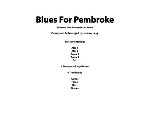 Blues For Pembroke