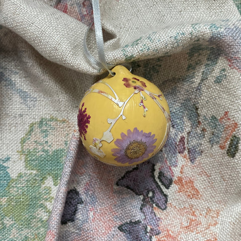Hand Crafted Ceramic Bauble