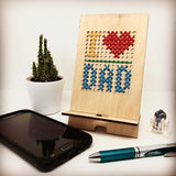 Wood and Wool Tech Stand
