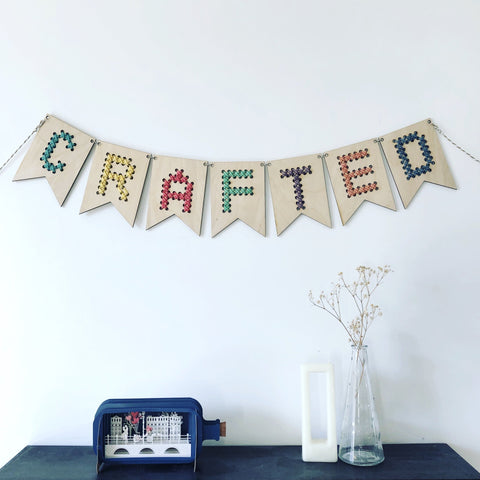 W&W Personalised Bunting