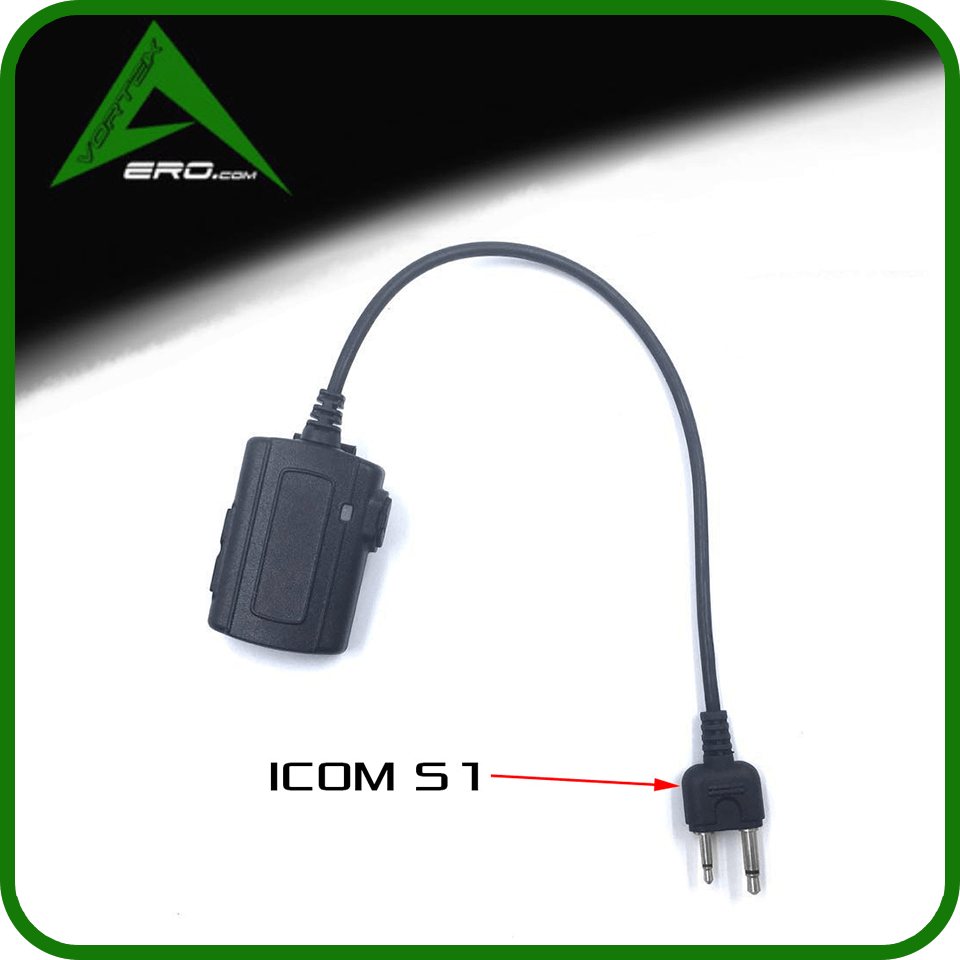 Vortexaero Dongle Wireless PTT Dongle S1 Icom (Standard radios, No Aviation radios)