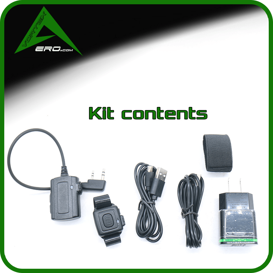 Vortexaero Kit Wireless PTT Dongle K1 (Baofeng, Kenwood, Puxing)