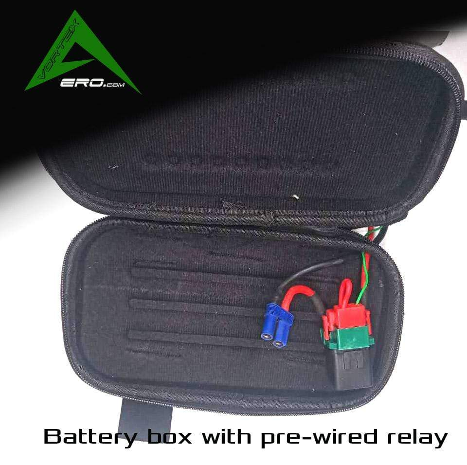 Vortexaero Paramotor Battery box and relay