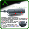 Vortexaero PTT Paring Wireless PTT Dongle S1 Icom (Standard radios, No Aviation radios)